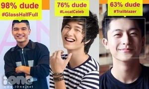 Soi độ đẹp trai của hot boy Việt bằng ứng dụng vui nhộn