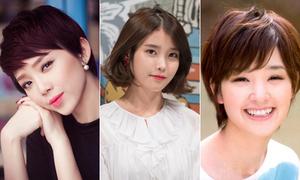 Sao Hàn - Nhật - Việt lột xác với tóc ngắn