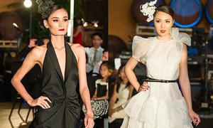 Lê Thúy 'mình hạc xương mai' đọ sắc với Hoa hậu 9x Jennifer Chung