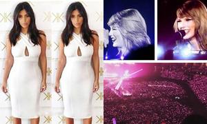 Sao US-UK 8/5: Kim bị fan chê béo, tour diễn Taylor Swift kín đặc fans
