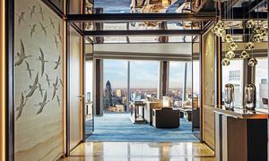 Đột nhập khách sạn sang trọng nhất London 320 triệu/đêm