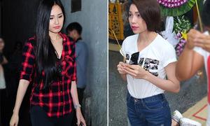 Sao Việt liên tục bị soi vì makeup, mặc đồ nổi bật tới đám tang