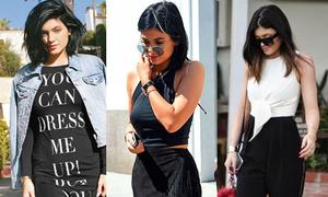 Style đen trắng sành điệu của icon thời trang mới Kylie Jenner