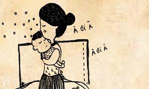 Bộ tranh về sự tảo tần khiến teen phải thốt lên 'Con yêu mẹ'