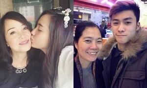 Hot teen Việt tíu tít bên người phụ nữ vĩ đại nhân ngày của Mẹ
