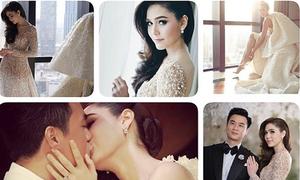 Lễ cưới ngang tiệc hoàng gia của mỹ nhân nổi nhất Thái Lan