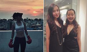 Sao Việt 12/5: Chi Pu làm 'boxing girl', Mie xinh đẹp hơn Michelle Phan