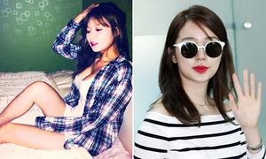 Hyun Ah bị nghi sửa vòng 1, Yoon Eun Hye mũm mĩm
