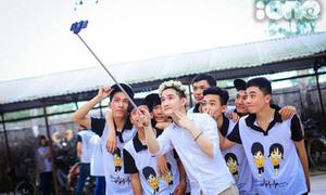 Ảnh kỷ yếu siêu nghịch ngợm của teen trường THPT Đông Sơn - Thanh Hóa