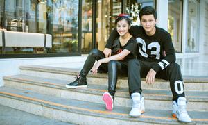 Huỳnh Anh và Hoàng Yến năng động với adidas NEO