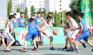 Teen TP HCM tranh tài bóng rổ