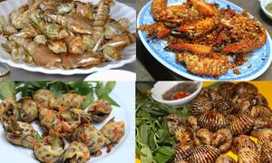 Chảy nước bọt với 5 món hải sản rang muối ớt ngon 'thần sầu'