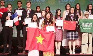 Teen Trần Đại Nghĩa đạt HCĐ nghiên cứu khoa học quốc tế