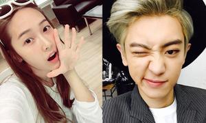 Sao Hàn 24/5: Chan Yeol ăn mừng lượng fan khủng, Jessica mặt mộc hồn nhiên