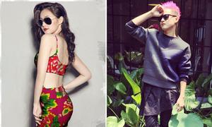 Sao Việt 29/5: Tâm Tít diện váy con công, Thanh Duy ấm sực giữa trời 40 độ
