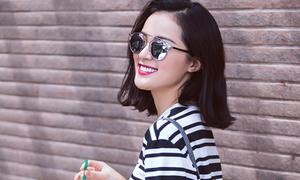 'Phạm Băng Băng Việt' Hạ Vy mix đồ siêu mát ngày hè