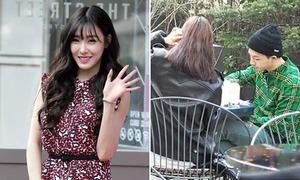Tiffany tươi rói hậu chia tay, Tae Yang tình cảm hẹn hò bạn gái