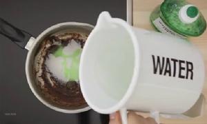 Tips làm sạch nồi bám bẩn cực thông minh