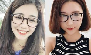 Học cách trang điểm mắt khi đeo kính cận của hot girl Việt