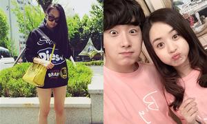 Sao Hàn 5/6: Jung Il Woo đọ kute với 'Sam Sam', Victoria lộ chân cong