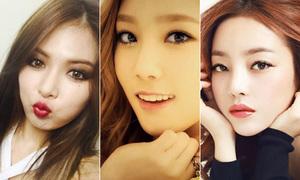 4 nữ thần tượng Hàn bị tố sửa mũi
