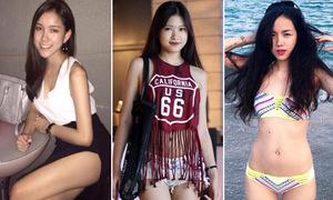 5 cô em gái xinh đẹp, sexy hút mắt vượt mặt cả sao Việt