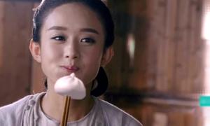 Triệu Lệ Dĩnh phải ăn bánh bao làm từ kỹ xảo trong Hoa Thiên Cốt