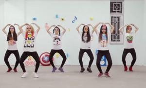 15 điệu nhảy nhạc Thái vui độc của 6 cô gái