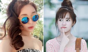 3 kiểu tóc hè nhanh gọn, mát mẻ của hot girl Thái, Hàn