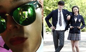 Sao Hàn 17/6: G-Dragon đánh phấn tô son, Ha Ji Won đóng nữ sinh ở tuổi 37