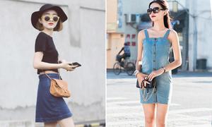 5 kiểu váy denim cực chất cho mùa hè