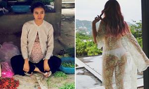 Sao Việt 19/6: Lan Ngọc ôm bụng bầu bán rau, Mie khoe vòng 3 siêu sexy