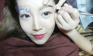 Thêu lông mày - xu hướng làm đẹp kiểu Hàn đang cực hot