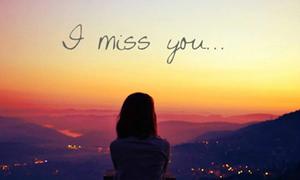 Khắc khoải nỗi nhớ về anh