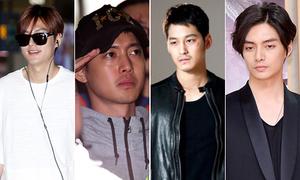 Nhan sắc - sự nghiệp thay đổi theo thời gian của F4 xứ Hàn