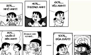 Tình yêu muôn màu trong mắt Nobita 'chế'