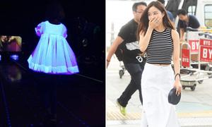 Soo Young mặc váy phát sáng, Hyo Min khoe eo con kiến