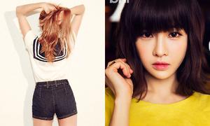 Sao Hàn 26/6: Boram xinh như teen girl, Jessica quảng cáo hàng tự thiết kế