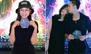 Sa Lim đeo kính cực ngố, Trâm Anh nhí nhố bên bạn trai