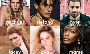 Dàn trai xinh gái đẹp ngất ngây của Next Top Mỹ mùa 22