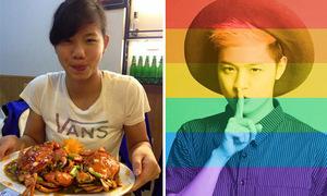 Sao Việt 27/6: Ánh Viên ăn một lúc 4 con cua, Thanh Duy treo cờ ủng hộ LGBT