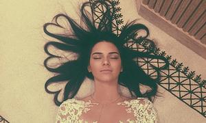 Ảnh tóc trái tim của Kendall Jenner đạt kỷ lục Like trên Instagram