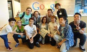 Nhóm hài Damtv thăm trụ sở Google tại Singapore