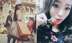 Sao Việt 2/7: Huyền Baby mua sắm thả ga, Kỳ Duyên tươi vui mặc scandal