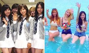 Sự lột xác của 4 nhóm Hàn từng nổi tiếng với đồng phục nữ sinh