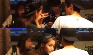 Ji Yeon T-ara bị chụp lén khi nũng nịu hẹn hò Lee Dong Gun