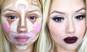 Mốt make-up mới: Vẽ mặt như hề tán đều là hoàn hảo
