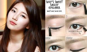 Học cách kẻ mắt đặc trưng của 4 mỹ nhân Hàn