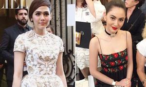 Hai mỹ nhân đình đám nhất Thái Lan so độ sành ở Paris Fashion Week