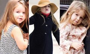 Công chúa 4 tuổi nhà Becks càng lớn càng dễ thương